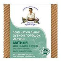 Proszek Babuszka Agafia Naturalny Miętowy proszek do zębów - wybielający 120ml