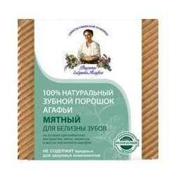 Babuszka Agafia Naturalny Miętowy proszek do zębów - wybielający 120ml (Środki do wybielania zębów)