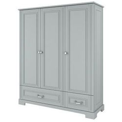 Bellamy Ines szara - szafa 3 drzwiowa, kategoria: szafy i szafki