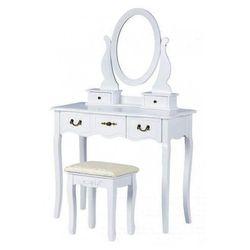 Elegancka toaletka lorena 2x - biała marki Producent: elior