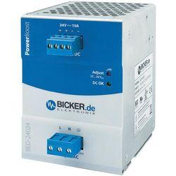 Zasilacz na szynę DIN Bicker Elektronik BED-24024 24 V/DC 10 A 240 W 1 x (transformator elektryczny)