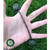 Begleri - ręcznie wykonane kulki do trików z linki spadochronowej Paracord