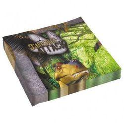 Serwetki urodzinowe Atak dinozaurów - 33 cm - 20 szt. (0013051626051)