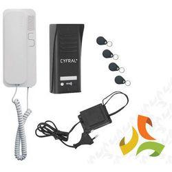 Domofon 'cyfral' 'cosmo' zestaw 1-lokatorski czarny c41a268 marki Eura-tech