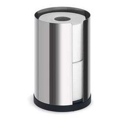 Stojak na papier toaletowy nexio stal polerowana 2 rolki wyprodukowany przez Blomus