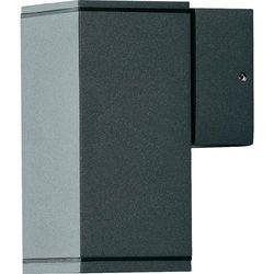 Konstsmide monza zewnętrzny kinkiet czarny - - nowoczesny/design - - monza -