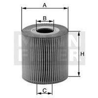 Filtr oleju HU 815/2x / OE649/6 MANN