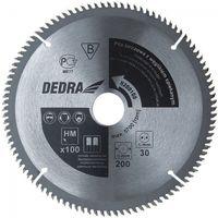 Tarcza do cięcia DEDRA H200100 200 x 30 mm do metalu HM + Zamów z DOSTAWĄ JUTRO! (5902628814128)