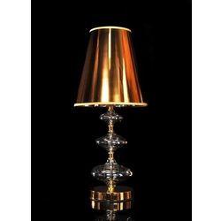 Lumina deco venaziana złota lampa nocna