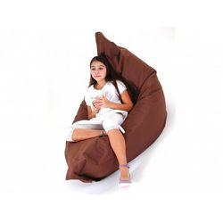 Beliani Xxl poducha pufa worek do siedzenia 140x180cm brąz (7081457309727)