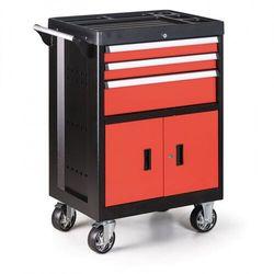 Pojemnik na narzędzia na kółkach, 3 szuflady marki B2b partner