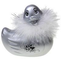 I Rub My Duckie - Najsłynniejszy wododporny stymulator kaczuszka Elegantka srebrna podróżna