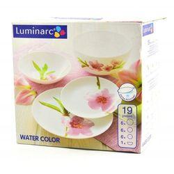 Luminarc Serwis obiadowy 19 elementów water color e4905 arc