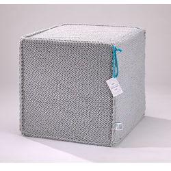 Puf Beauty Cube Grey by We Love Beds, Beauty Cube Grey