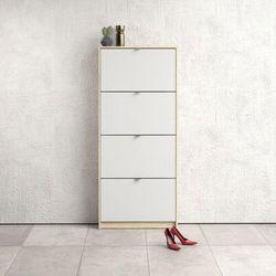 Szafka na buty roma 4d duża dąb sonoma/biały