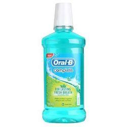 Oral B Complete płyn do płukania jamy ustnej przeciw płytce nazębnej i dla zdrowych dziąseł + do ka�