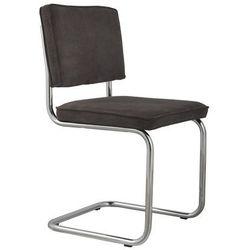 Zuiver Krzesło RIDGE RIB szare 6A 1006005