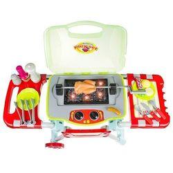 Grill z akcesoriami światło dźwiek marki Lean toys