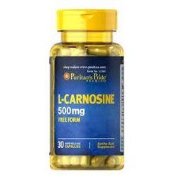 L-Karnozyna 500 mg 30 kaps Puritnas z kategorii Tabletki na odchudzanie