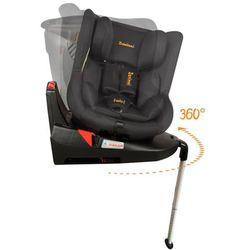 Baninni bannini obrotowy fotelik samochodowy twirl 360 isofix, czarny (5404016400703)