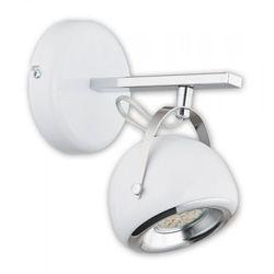 Flavio kinkiet 1 pł. / chrom + biały, dodaj produkt do koszyka i uzyskaj rabat -10% taniej! marki Lemir