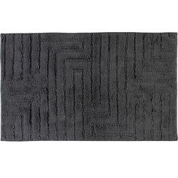 Cawo Dywanik łazienkowy 60 x 100 cm antracytowy wytłaczany