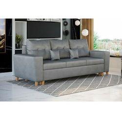 Meblemwm Nowoczesna sofa do salonu z pojemnikiem - elio - tkanina velutto