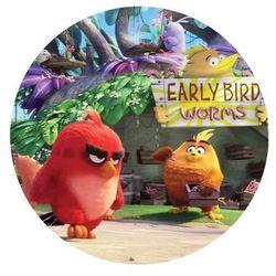 Dekoracyjny opłatek tortowy Angry Birds - 20 cm - 15