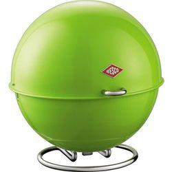 - pojemnik na pieczywo superball - zielony - zielony marki Wesco