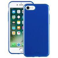 sunny kit - zestaw etui iphone 7 + składane okulary przeciwsłoneczne (niebieski) marki Puro