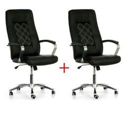 Krzesło biurowe rombus, 1+1 gratis, czarny marki B2b partner