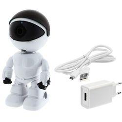Kamera do obserwacji niani opiekunki ukryta LV-IP27PTZ PTZ Robot KEEYO IP FullHD Niania Elektroniczna 2MPx IR