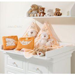kocyk polarowy śpioch w hamaku brzoskwiniowy marki Mamo-tato