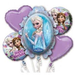 Bukiet balonów foliowych Frozen - Kraina Lodu - 1 kpl., kup u jednego z partnerów