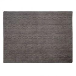 Dywan do Prania w Pralce Trenzas Dark Soft Grey - produkt z kategorii- Dywany dla dzieci