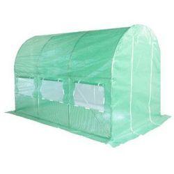 H&g Tunel ogrodowy foliowy zielony 200x350 cm 7 m2 (5904730242134)