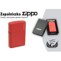 Zapalniczka ZIPPO Red Matte Logo