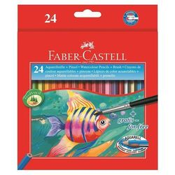 Kredki akwarelowe  rybka fc114425 24kol. od producenta Faber-castell
