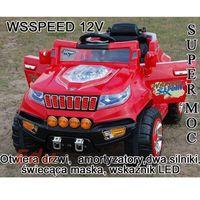 Import super-toys Wielki samochód na akumulator 2x45w, otwierane drzwi 12 v/pb805