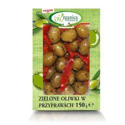 Zielone oliwki w przyprawach bio 150 g - biorganica nuova od producenta Biorganica nuova (włoskie przekąski)