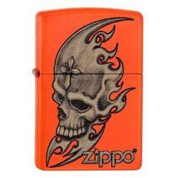 Zapalniczka Zippo Skull Head Neon Orange 60001887 z kategorii Zapalniczki
