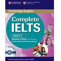 Complete IELTS Bands 4-5 Student's Book (podręcznik) with Answers and CD-ROM