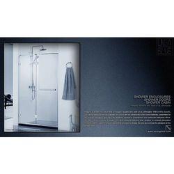 Drzwi prysznicowe AXISS GLASS AN6221WF-1R 1000mm, towar z kategorii: Drzwi prysznicowe