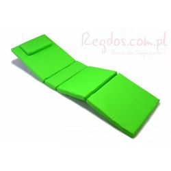 Wysokiej jakości poduszka na leżak zielona