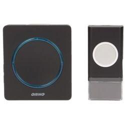 Dzwonek bezprzewodowy opera dc, bateryjny, learning system, 48 dźwięków, 100m marki Orno