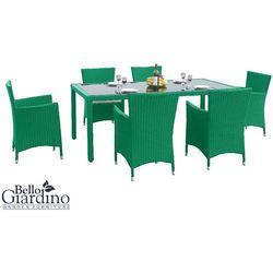 Zestaw mebli ogrodowych  capitale zielony promocja marki Bello giardino