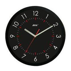 Zegar ścienny czarny Arabic