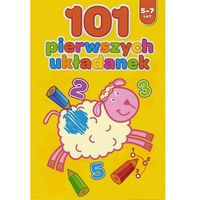 101 Pierwszych Układanek 5-7 Lat, Yoyo Books