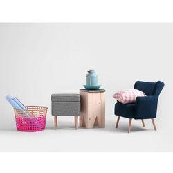 Pufa Customform EDI 40- różne kolory tapicerki, kolor różowy