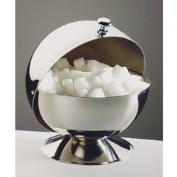 Cukiernica z pokrywą roll-top o średnicy 135 mm | APS, 00033